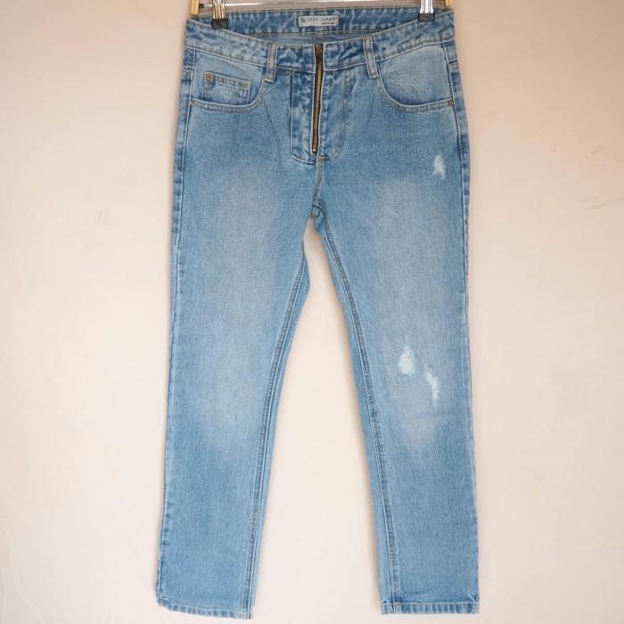 Foto Produk ORI Celana Panjang Boyfriend -Ga Tembus/Ripped Jeans Wanita BY 803 316 dari Esrocte