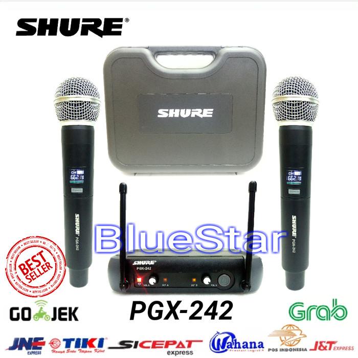 harga Mic wireless shure pgx 242 handheld Tokopedia.com