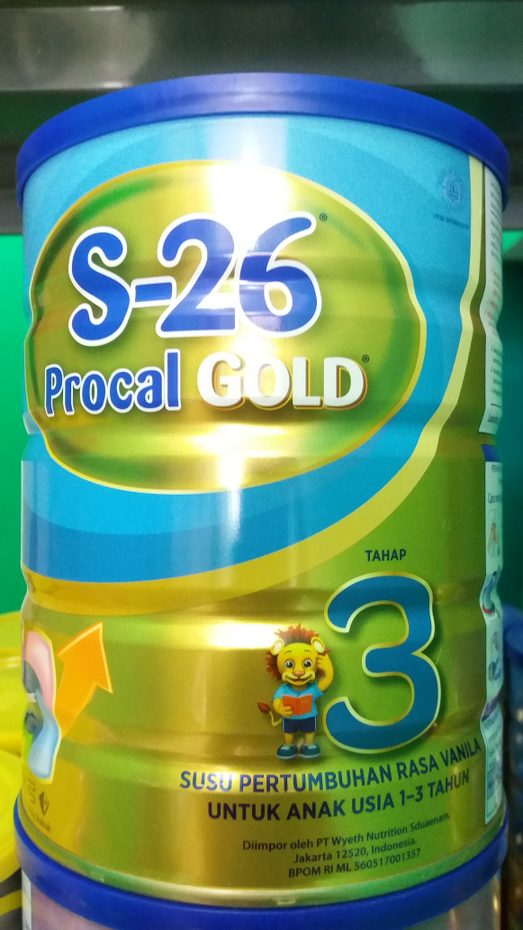 Foto Produk S26 Procal Gold Tahap 3 900 gram dari FahanZka