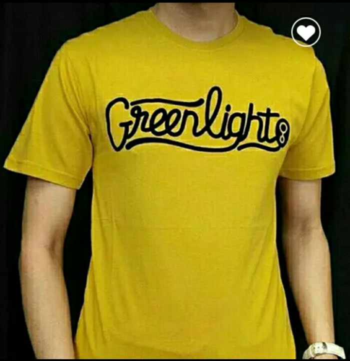 KAOS DISTRO GREEN LIGHT TERBARU