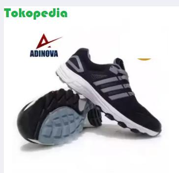Jual Adinova Shoes Sepatu Pria Sport dan Sepatu Gaya A01 NEW - Hitam ... 02f8046a6c