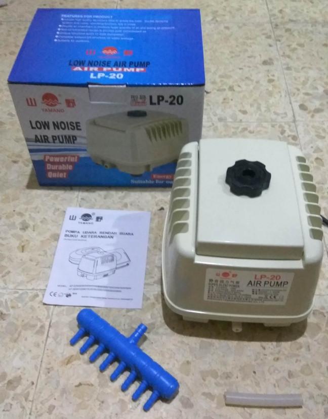 Jual Aerator / Pompa Udara Aquarium Yamano LP-20 (Type ...