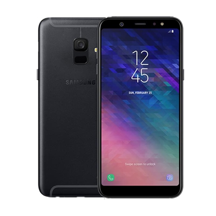 harga Samsung galaxy a6 2018 black Tokopedia.com