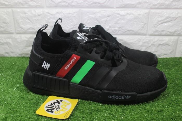 sprzedaż online atrakcyjna cena sprzedaż Jual Sepatu Adidas NMD R1 Black X Undefeated - DKI Jakarta - Alisyashoes    Tokopedia