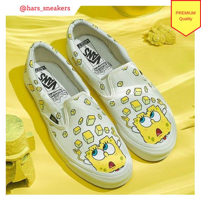 Jual Sepatu Vans Vault x Spongebob Squarepants Classic Premium ... 692eee082d