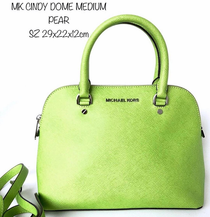 4a33722b797f Jual Tas Michael Kors Original / MK Cindy Medium Micro Stud Satchel ...