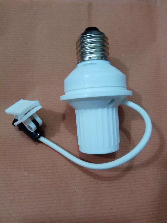harga Fitting sensor cahaya lampu rumah neon plc led siang dan malam Tokopedia.com