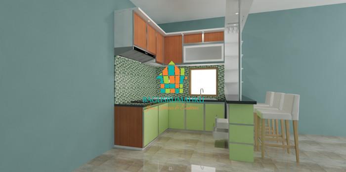 Jual Custome Furniture Kitchen Set Minimalis Murah Berkualitas