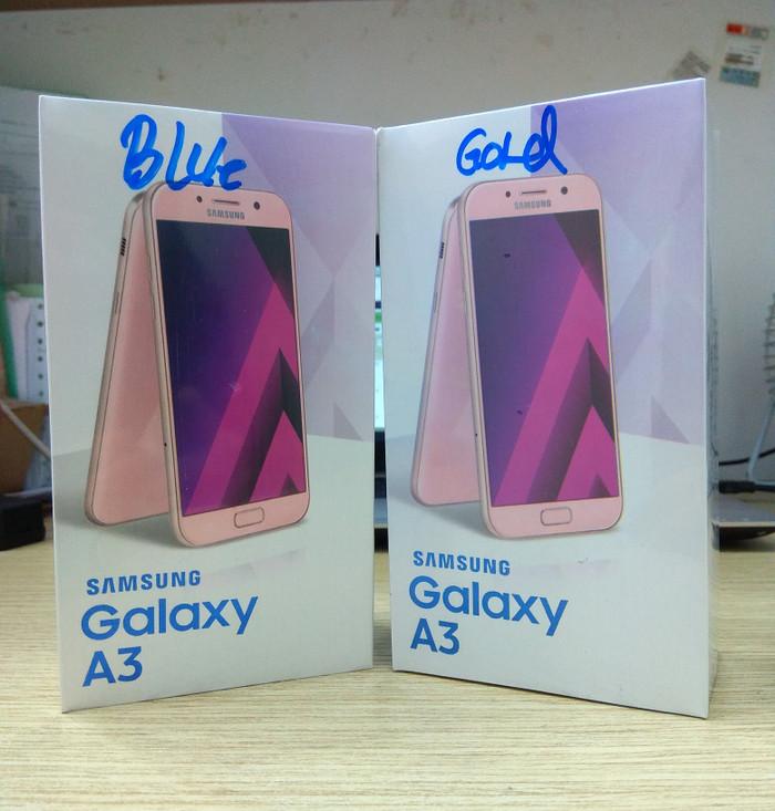 Samsung Galaxy A3 2017 Garansi Resmi SEIN 1Tahun - Merah Muda