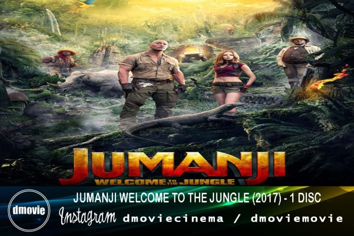 Jual Jumanji Welcome To The Jungle 2017 Dvd Box Office Kota Pontianak Dmoviemovie Tokopedia