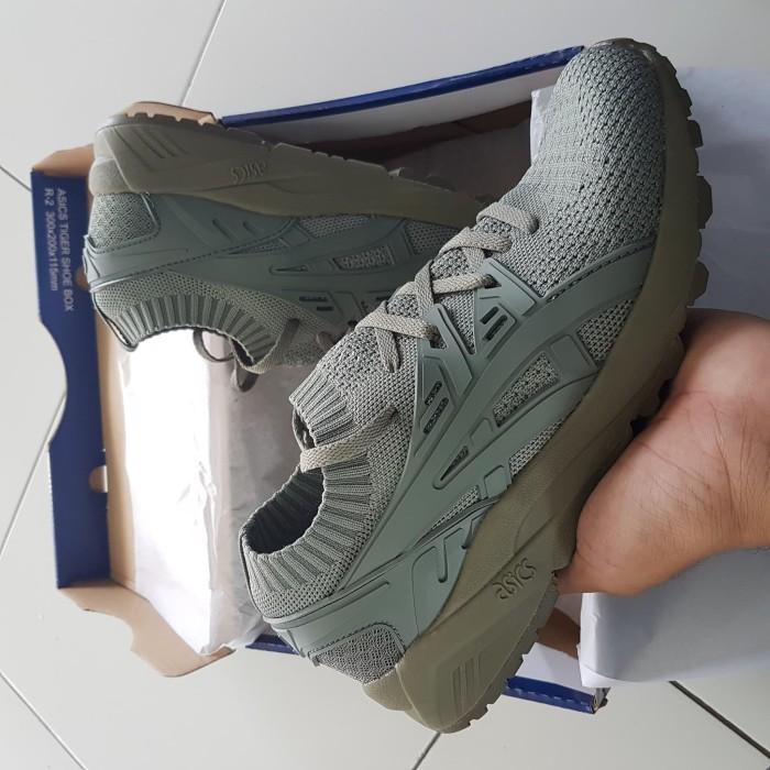 brand new 53b94 1cb1c Jual Asics Gel Kayano Trainer Knit Agave Green - Kab. Tangerang - Shoesweet  | Tokopedia