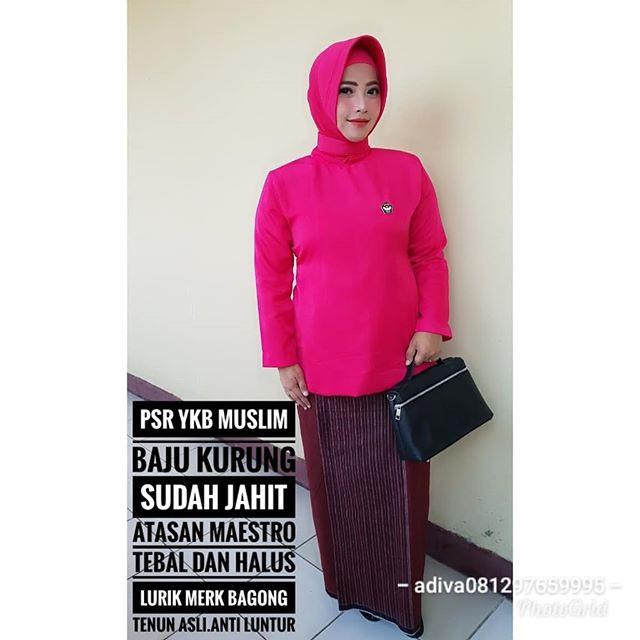 Jual Psr Yayasan Kemala Bhayangkari Muslim Baju Kurung Sudah Jahit