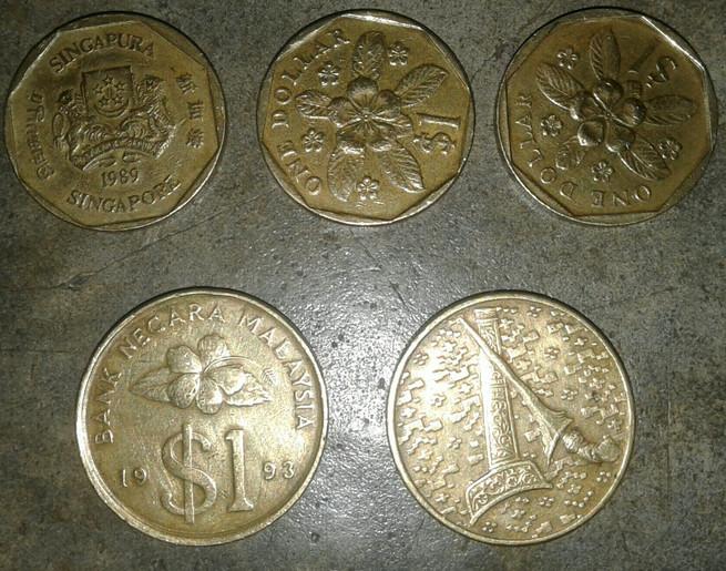 Gambar Uang Koin Singapura Jual Uang Logam Singapura Dan Malaysia Kota Tanjung Balai
