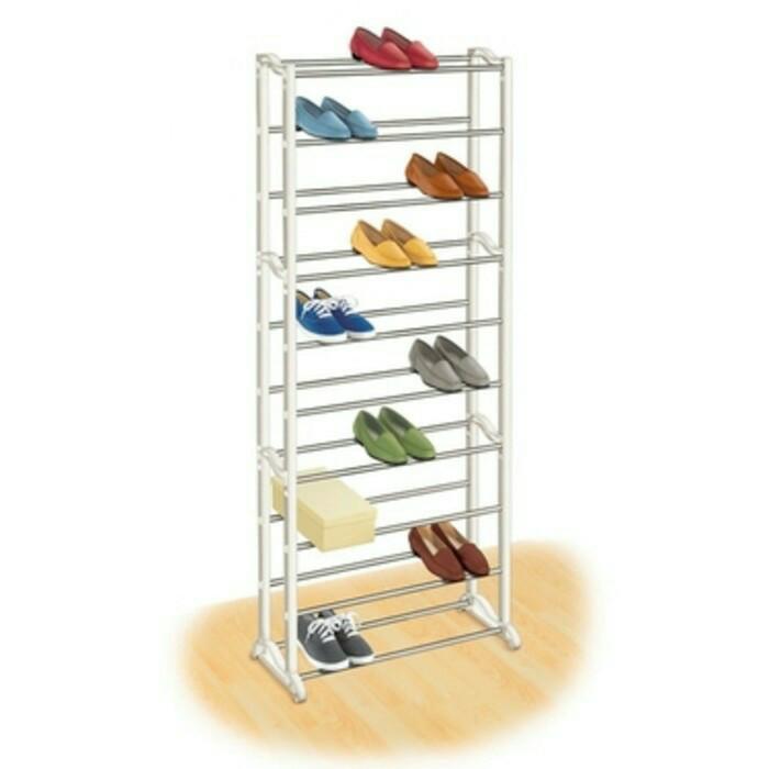 Amazing shoe rack / rak sepatu 10 susun bawah