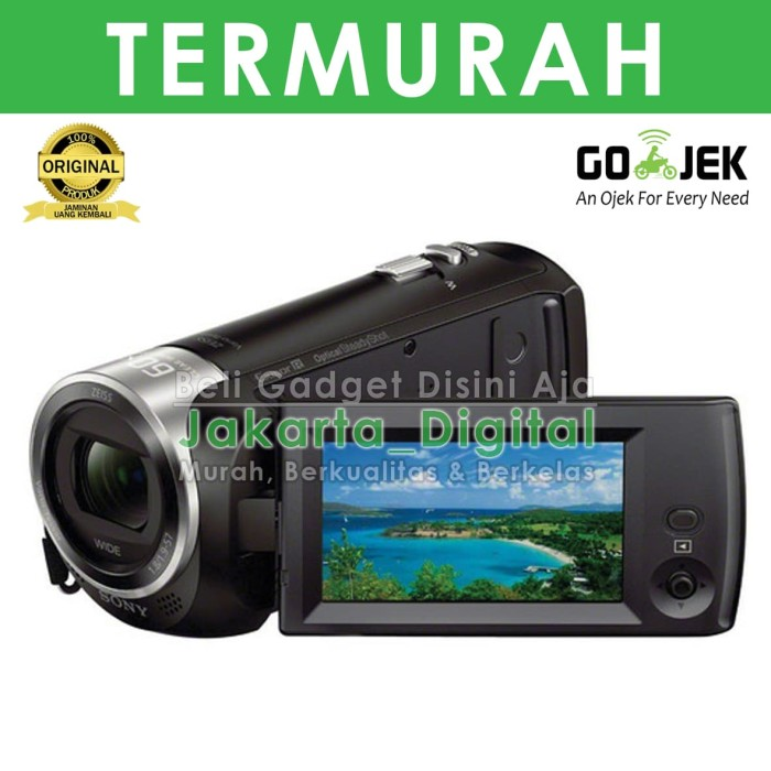 harga Jakarta digital handycam sony cx405 bergaransi resmi hdr cx 405 Tokopedia.com