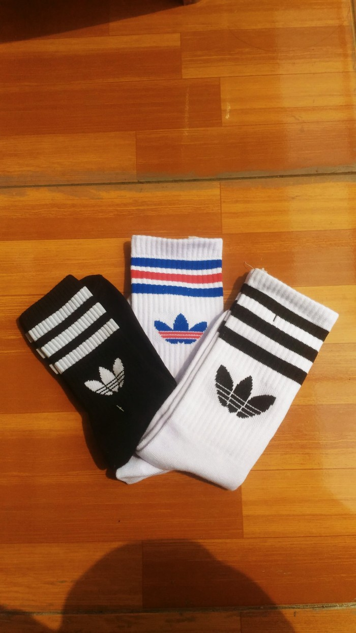 Jual Kaos Kaki Adidas Strip Casual Kab Karawang Sockstyle23 Krw