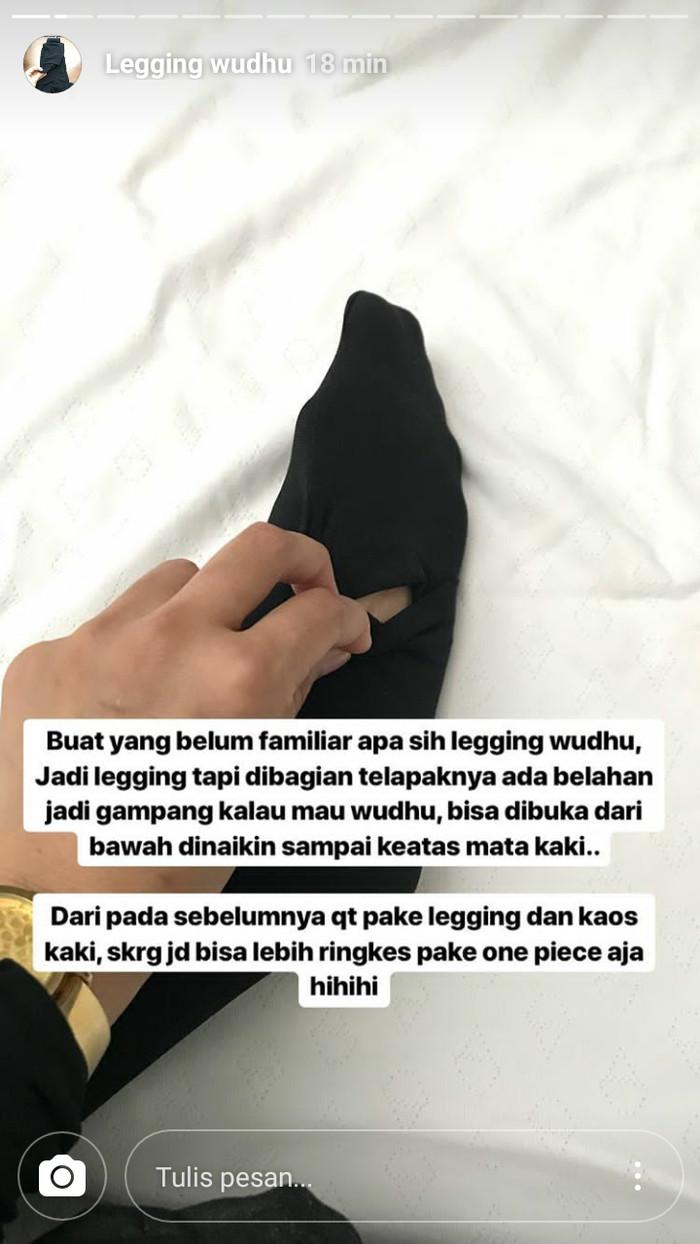 Jual Legging Wudhu Bahan Premium Perak M Kota Madiun Minuman Kemasan H45ta Tokopedia