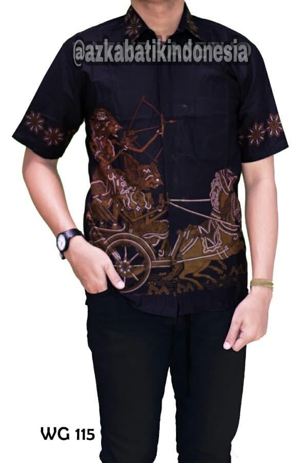 Jual Model Kemeja Batik Pria Modern Terbaru Keren Merah M Kota Yogyakarta Toserbapemalang Tokopedia