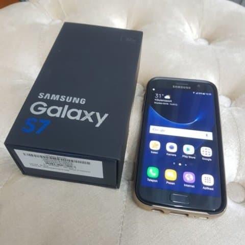 Samsung Galaxy S7 Flat 32 GB - Like NEW - Jakarta GOJEK -Fullset- 32GB