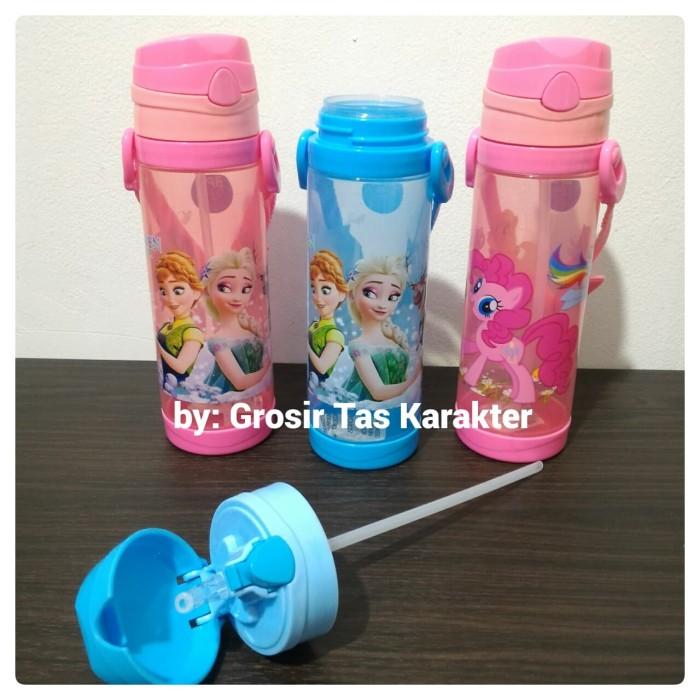 Botol Minum Anak Perempuan Frozen Little Pony 24cm Tempat Minum Bekal
