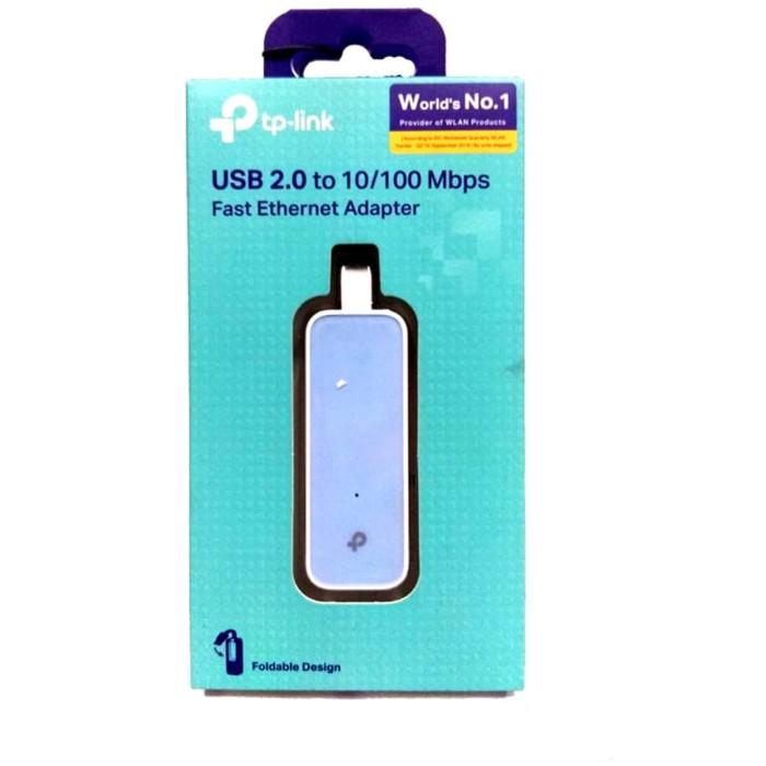 Jual TP-LINK UE200 USB 2.0 to 100Mbps Ethernet Network Adapter ...