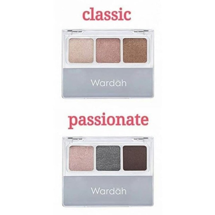Wardah Nude Colours Eyeshadow Classic / Passionate