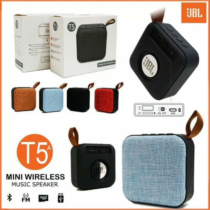 Jbl tube T5 speaker bluetooth mini wireless