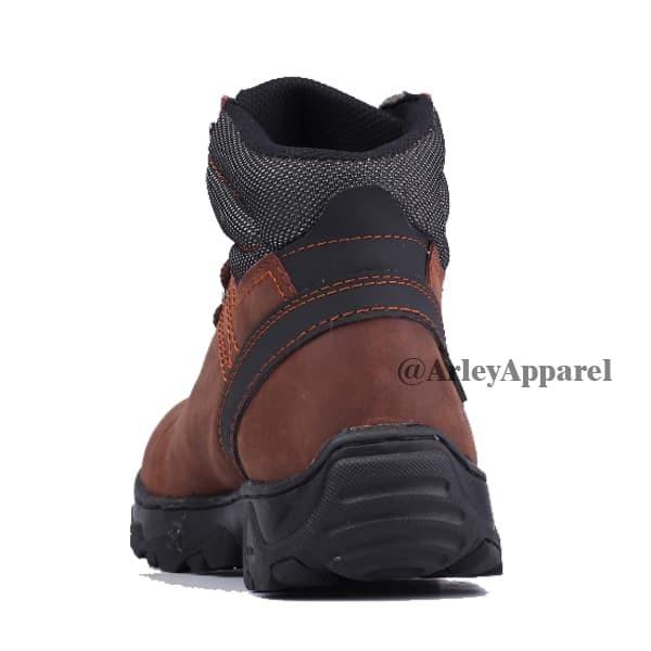 Sepatu Boots Hiking Gunung Safety Pria Original Catenzo LI 066