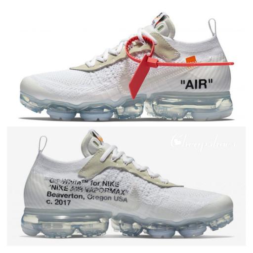7c897e0d7bb Jual Off White x Nike Air Vapor Vapormax premium BNIB All White men ...