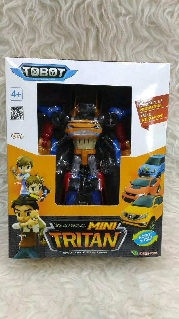 Jual Termurah Mainan Anak Robot Tobot Tritan Xyz 3 In 1 Jakarta Barat Sport Bike