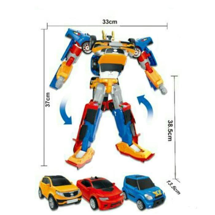 Foto Produk Termurah Tobot Tritan Biru Ukuran Besar Tinggi Robot 37Cm Mainan Anak dari hp_shop