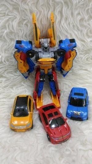 Foto Produk Termurah Tobot Tritan 3 Cars X Y Z Combine Mainan Anak Transformer dari hp_shop