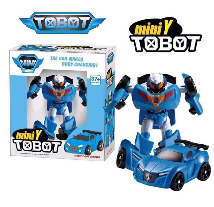 Foto Produk Termurah Tobot Mini Y Transform Robocar Mainan Anak dari hp_shop