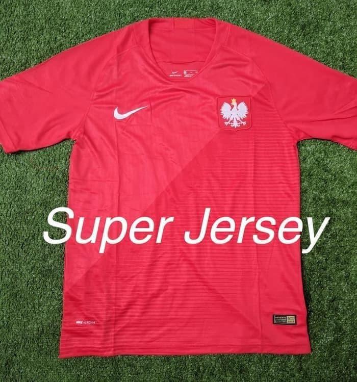 766650e3e Jual Termurah Jersey Polandia Away Grade Ori Kaos Bola World Cup ...