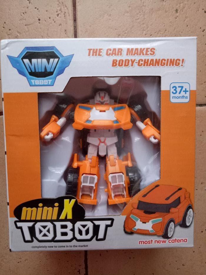 Foto Produk Termurah Murah Mainan Anak Robot Tobot Orange dari speedtoko1