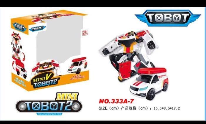 Foto Produk Termurah Tobot Mini 2 Mainan Robot Bisa Jadi Mobil Transform Produk dari speedtoko1