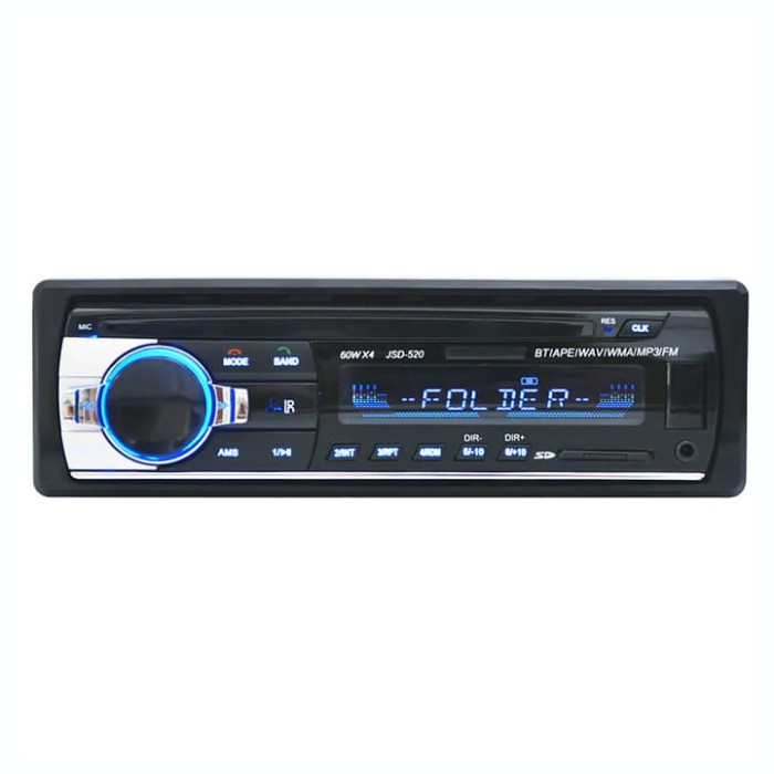 harga Tape audio mobil single din bluetooth usb mp3 fm radio jsd-520 jsd520 Tokopedia.com