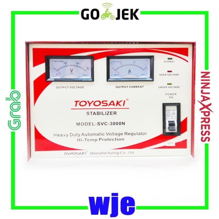 harga Stabilizer toyosaki 3000va max 2400 watt untuk ac & alat electronik Tokopedia.com