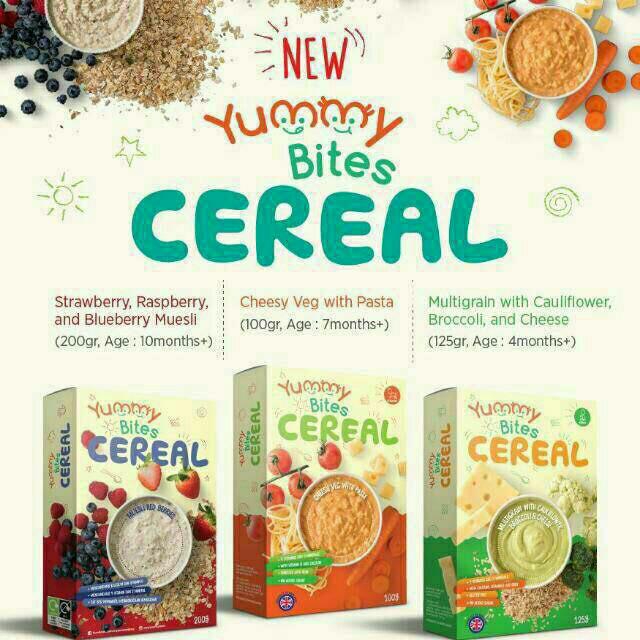 harga Yummy bites cereal makanan bayi Tokopedia.com