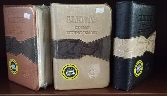 harga Alkitab lai dengan kidung jemaat edisi huruf besar. lansia. neuro. Tokopedia.com