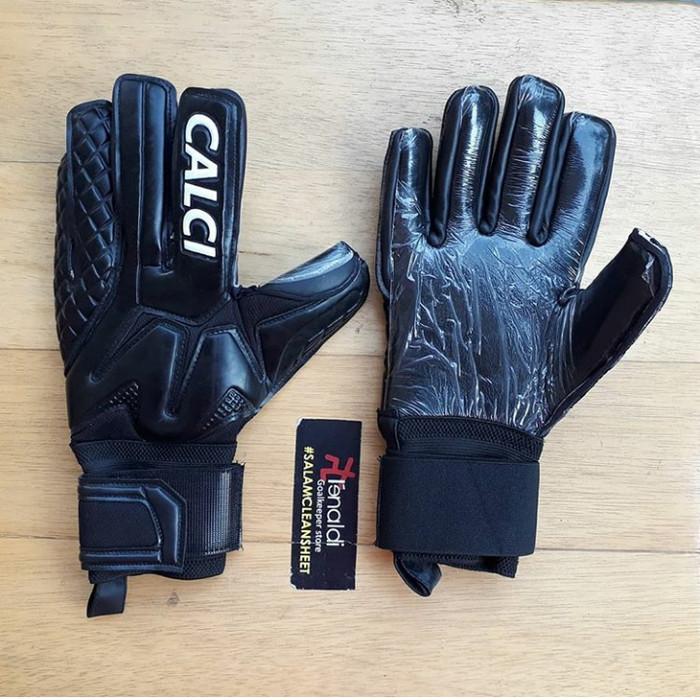 harga Sarung tangan kiper calci pro blackout goalkeeper glove Tokopedia.com