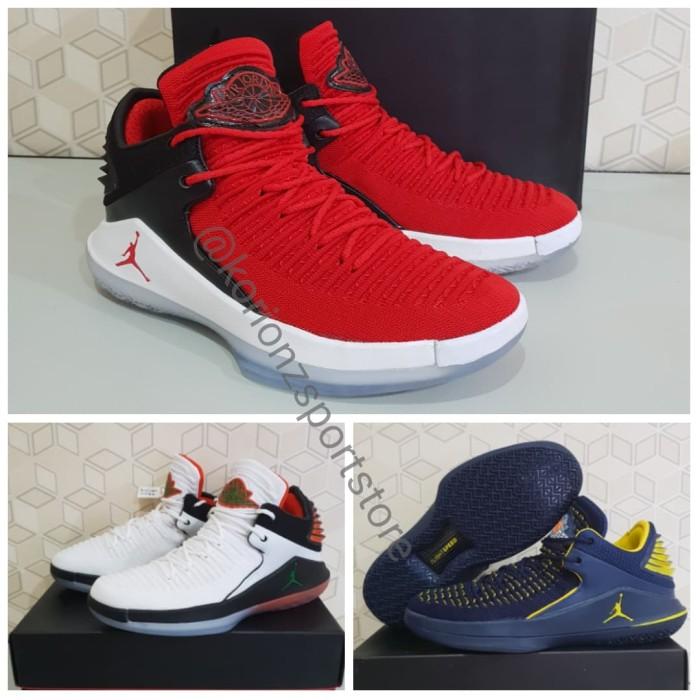 4c1a081d3b8b42 Jual Sepatu Basket Nike Air Jordan XXXII AJ 32 Low Termurah - BANNED ...
