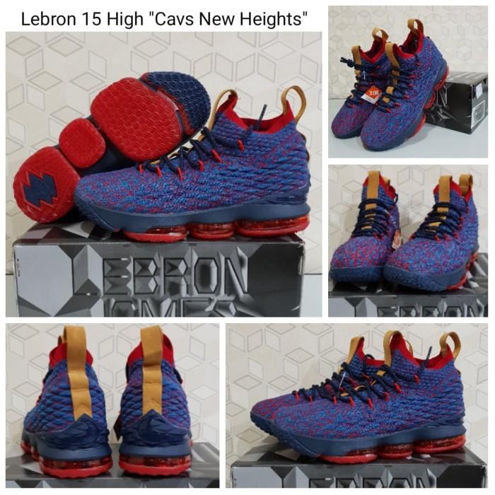 the best attitude af286 52a30 Jual Sepatu Basket Nike Lebron James LBJ 15 High Termurah PREMIUM - New  Heights, 39 - Jakarta Utara - Korionz Shop | Tokopedia