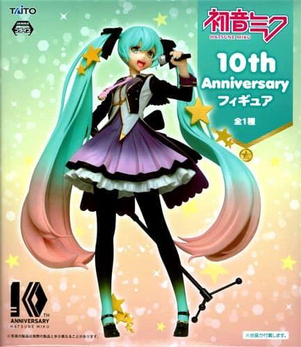 Hatsune Miku 10th Anniversary Figure Taito