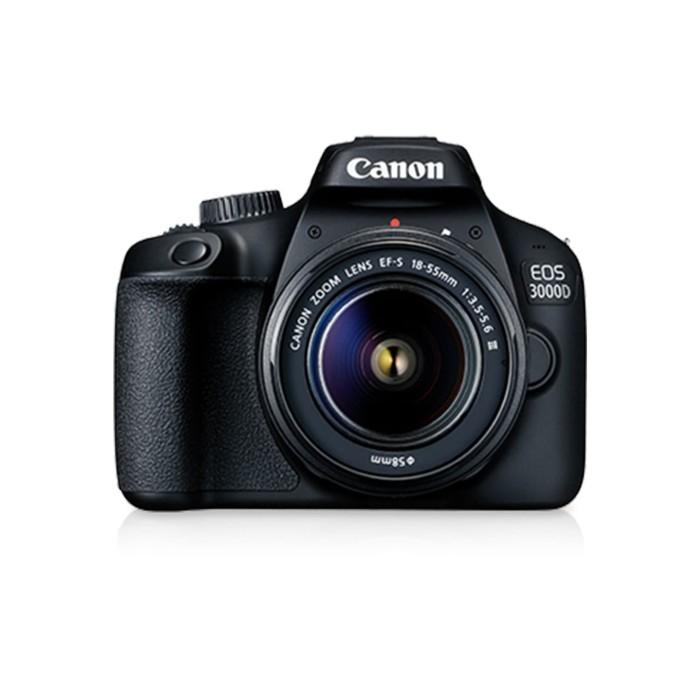 harga Canon kamera eos 3000d with lens 18-55mm dc iii Tokopedia.com