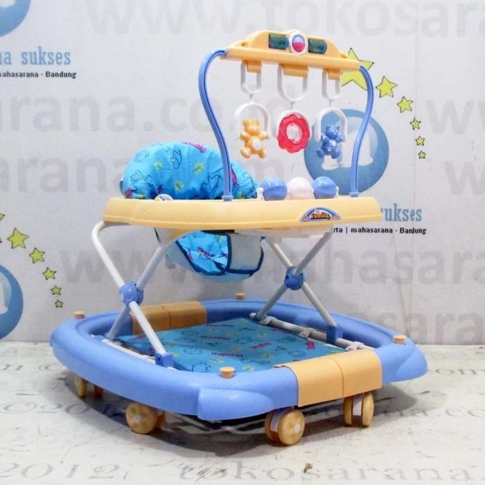 harga 3 in 1 family fb2068 hanging toy baby walker, ayunan baby walker Tokopedia.com