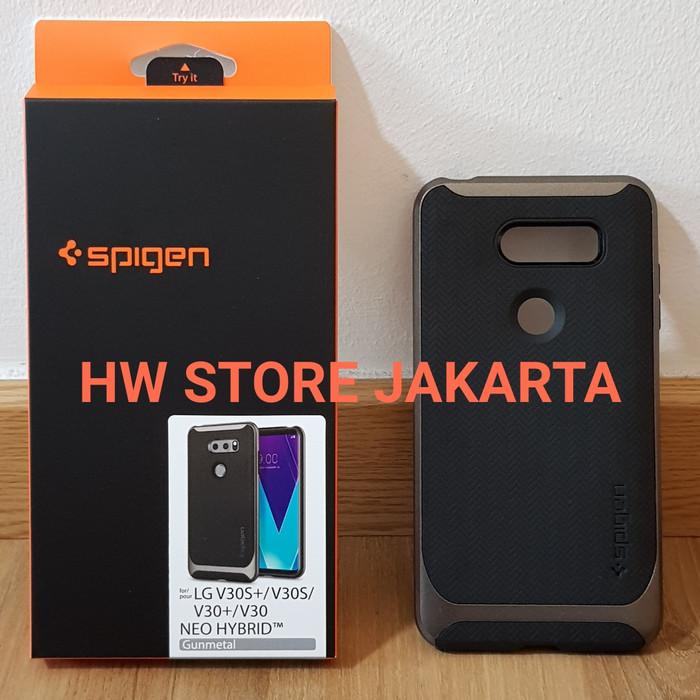 low priced 1b60d 6a499 Jual ORIGINAL SPIGEN NEO HYBRID CASING LG V30 - GUNMETAL - Jakarta Utara -  HW Store Jakarta | Tokopedia