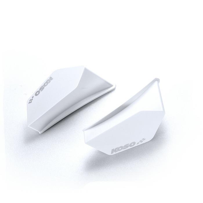 harga Koso aero dynamic wing kit universal white - aksesoris body motor Tokopedia.com