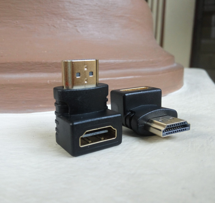 Barel sambungan adapter converter hdmi male ke female