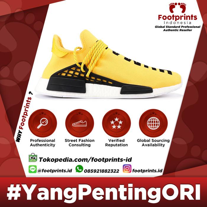 wholesale dealer a612a 0dd6d Jual Sepatu Adidas NMD Human Race Yellow OG (BB0619) 100% Original Sneakers  - DKI Jakarta - Footprints Indonesia | Tokopedia